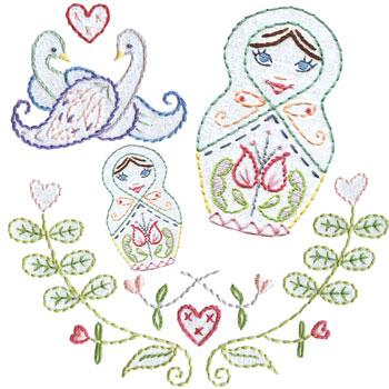 Matrioshka_embroidery